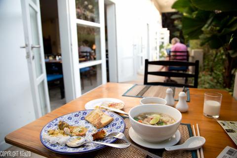 カンボジア_フランジパニヴィラホテル朝食_5