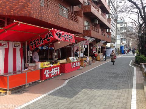 中目黒桜_開花状況20160324_4