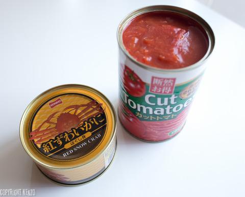 カニのトマトクリームソーススパゲティ_1