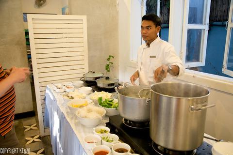 カンボジア_フランジパニヴィラホテル朝食_2