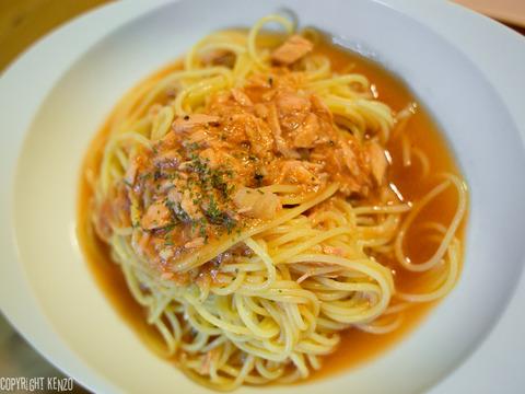 冷たいスパゲッティ_トマトソース_1