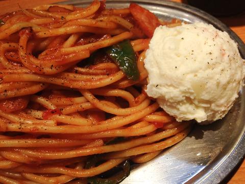スパゲティのパンチョ