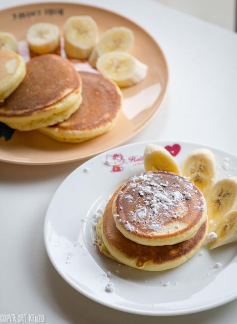 パンケーキ朝食_2