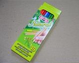 コイノ木軸溝色鉛筆