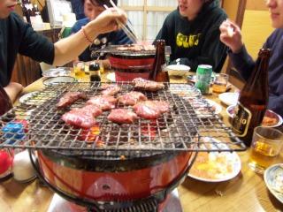 ホルモン道場(七輪)