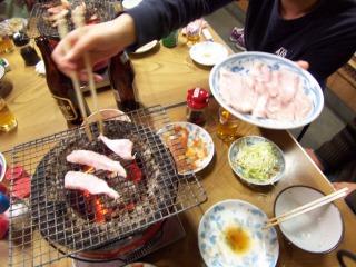ホルモン道場(胃袋焼き)