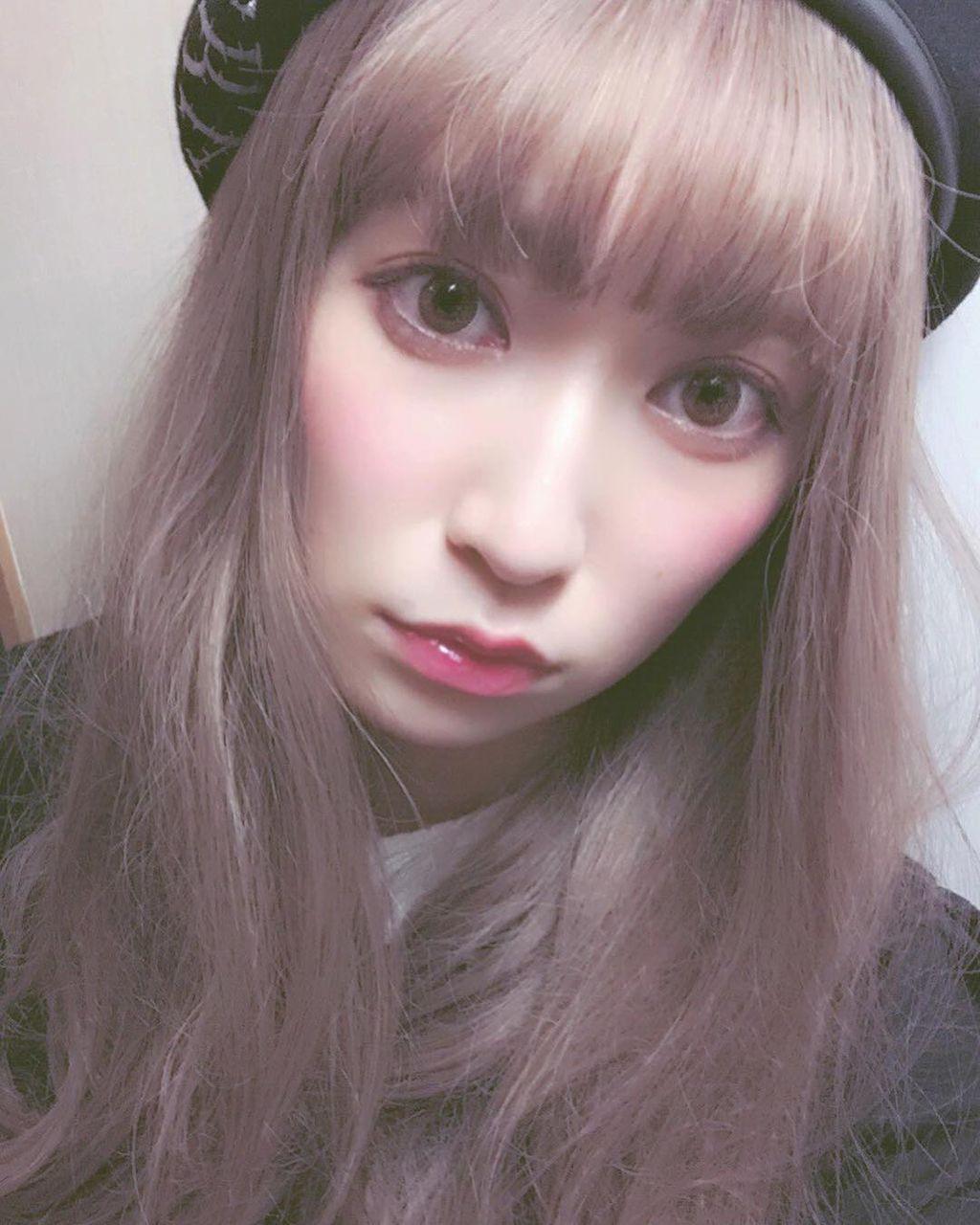 ズキ子 髪型