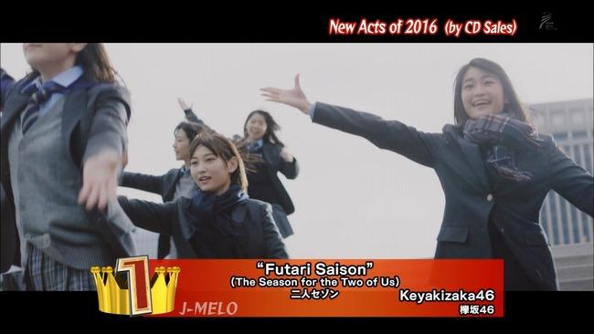 【欅坂46】NHK BSプレミアム「第10回J-MERO Awards」に欅ちゃんが登場!新人アーティストCD売り上げ1位に