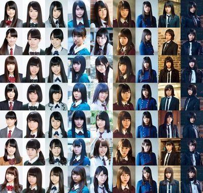 【欅坂46】結成初期から変わらないメンバーがこちら