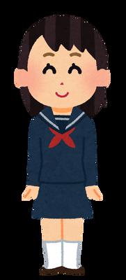 【閲覧注意】謎すぎる女子高生の制服と水着画像がコチラ・・・・