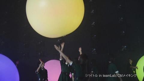 バイトル×欅坂46 CMメイキング映像 176