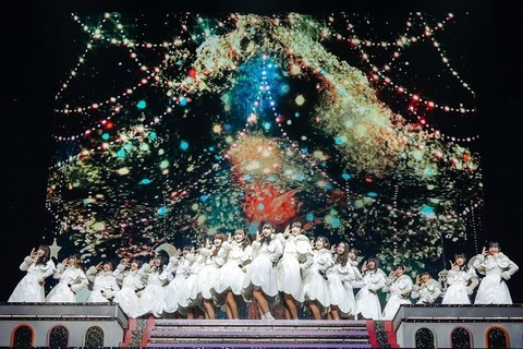 【欅坂46】「ひらがなくりすます」のクリスマスらしい衣裳可愛かったな