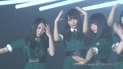 バイトル×欅坂46 CMメイキング映像 384