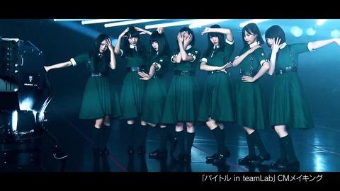 バイトル×欅坂46 CMメイキング映像 038