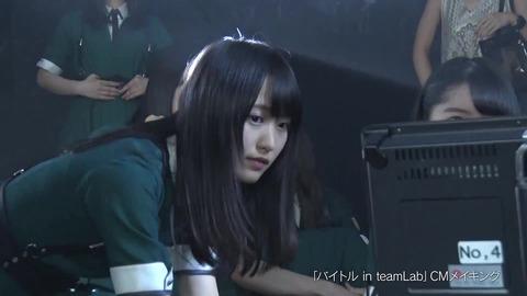 バイトル×欅坂46 CMメイキング映像 318
