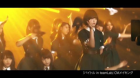 バイトル×欅坂46 CMメイキング映像 041