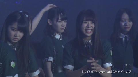 バイトル×欅坂46 CMメイキング映像 460