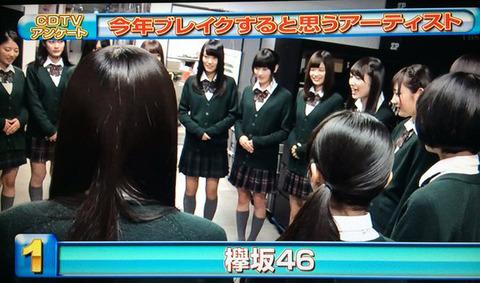 欅坂CDTV