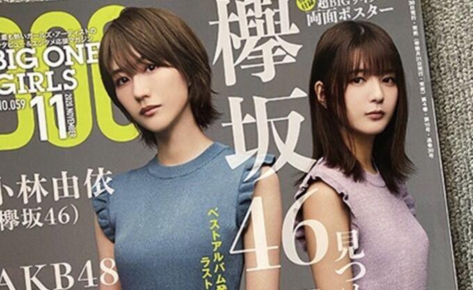 【欅坂46】デカいwwwこれはBIG two girls