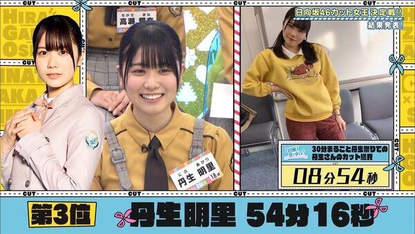 丹生明里ちゃんが「チキン&ベアー」着てた映像が!結構似合ってる件wタバコTシャツもほぼ特定でおひさまで着る人続出しそうw(日向坂で会いましょう)