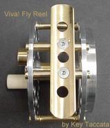 Namiki Reel IvoryPlate Silver 65mm ~6