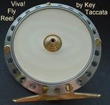 Namiki Reel IvoryPlate Silver 65mm ~E