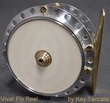Namiki Reel IvoryPlate Silver 65mm ~2