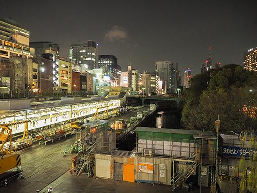 神田明神男坂の夜散歩5