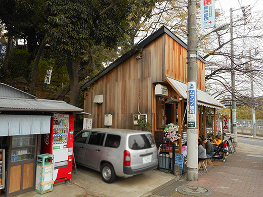 多摩川浅間神社の男坂?3