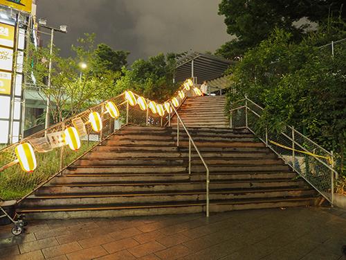 宮下公園にあった階段と橋7