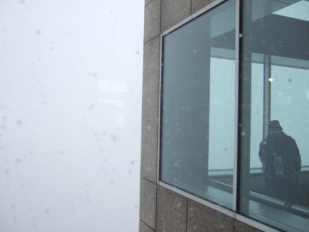 新宿雪見散歩2