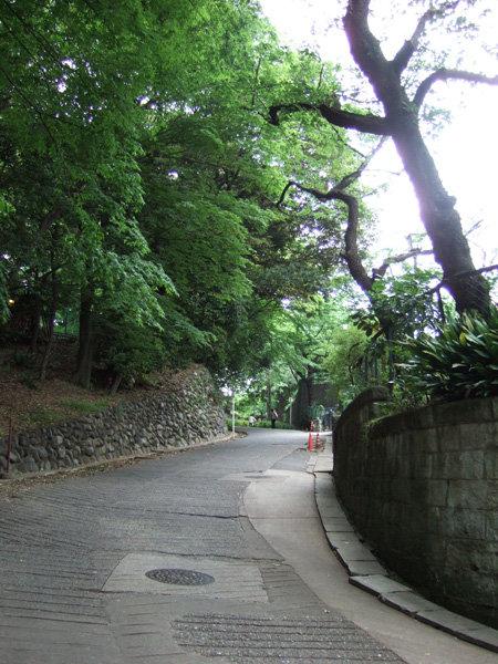 上野東照宮の女坂?3