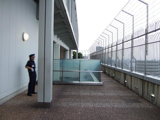 新宿タイムズスクエアからの国立競技場4