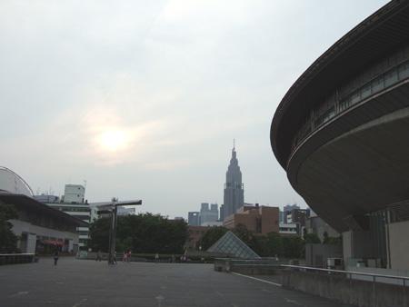 ひさびさの東京体育館