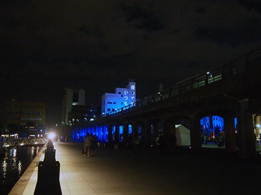 スマートイルミネーション横浜で勾配さんぽ4