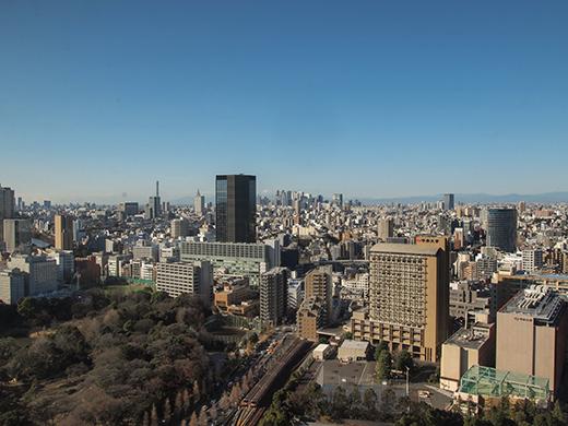 文京シビックセンターから富士見2