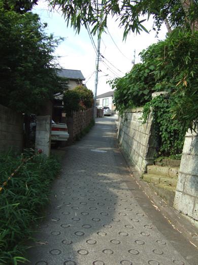 馬込文士村散策コース道中で見つけた無名坂3