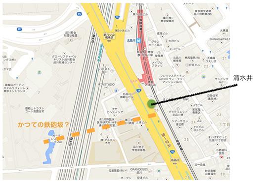 鉄砲坂5地図