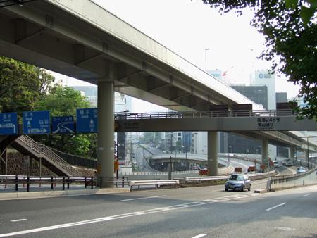 赤坂の高低差ぶらり1