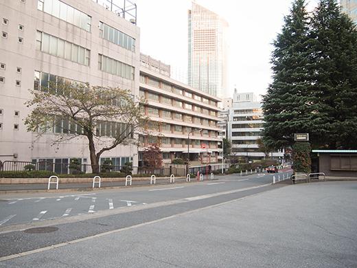 ホテルオークラ東京の坂道を歩いてみる2