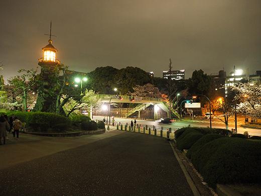 九段坂の夜桜と千鳥ヶ淵2