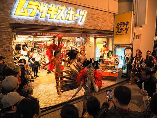 ハロウィンの日に渋谷で坂道散歩5