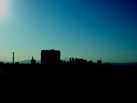 文京シビックセンターからの富士山2