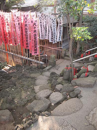 代々木八幡宮で富士山2