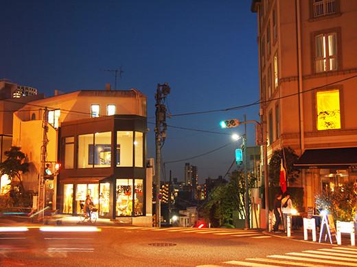 上村坂の坂上からの夜景1