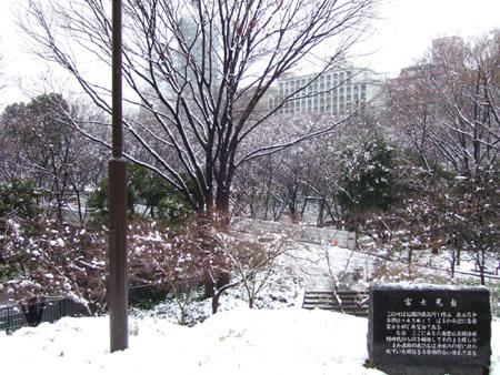 新宿雪見散歩3