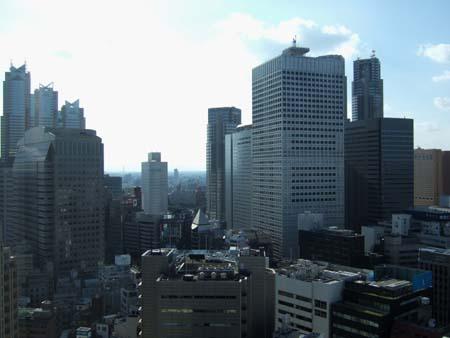 新宿のとあるビルからの眺め02