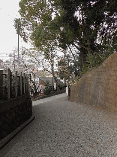 多摩川浅間神社の女坂かも?10