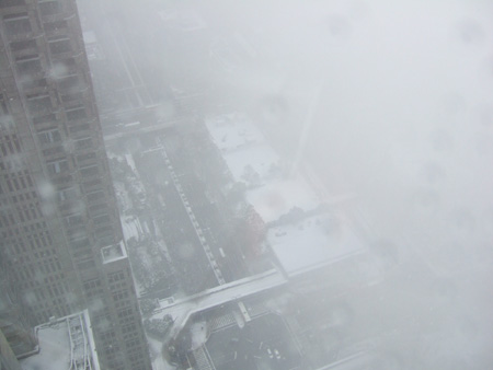 新宿雪見散歩1
