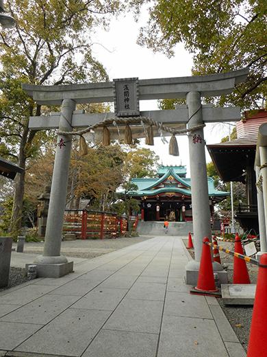 多摩川浅間神社の男坂?13
